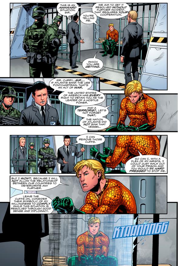 Aquaman's Prison Demands