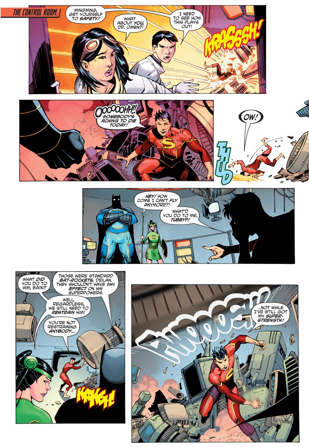 Chinese Super-Man VS Chinese Bat-Man And Chinese Wonder-Woman