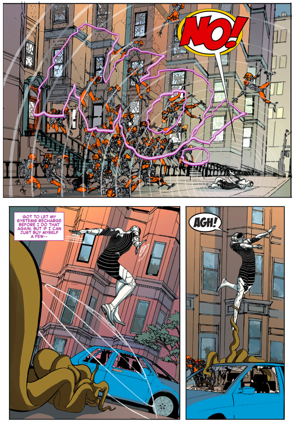 Clash VS Robot Master (Civil War II)