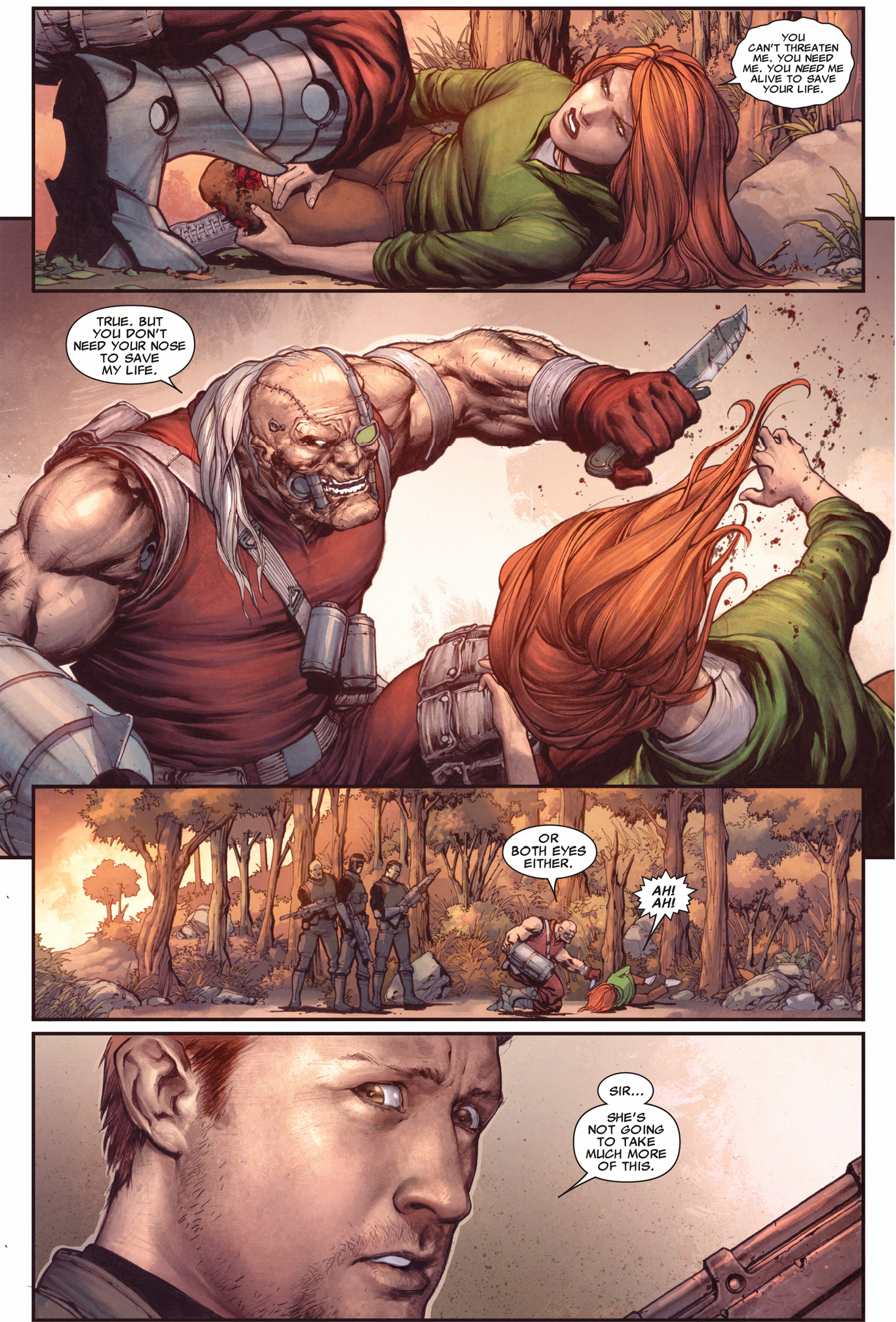 crimson commando tortures hope summers