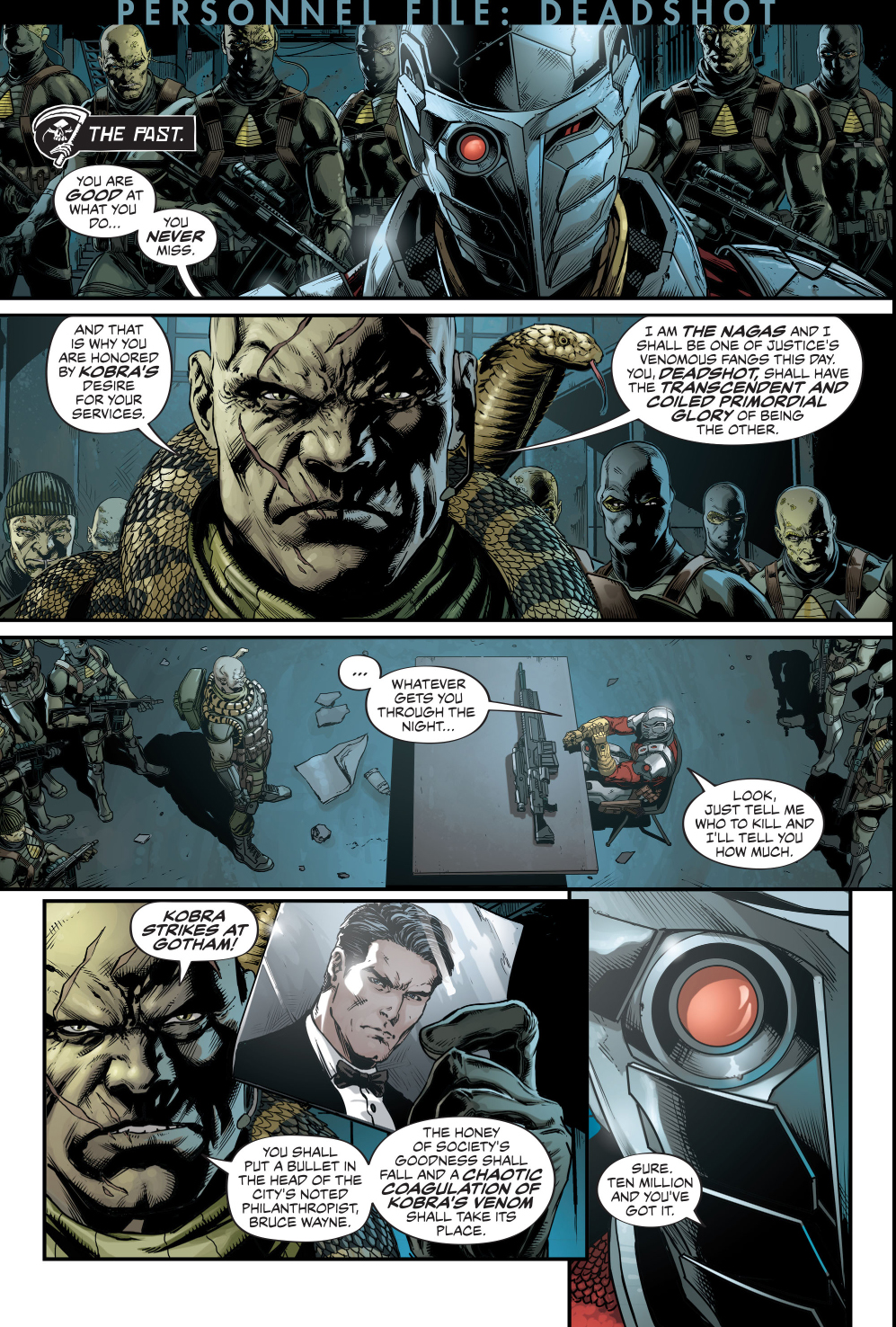 deadshot's background story (rebirth)