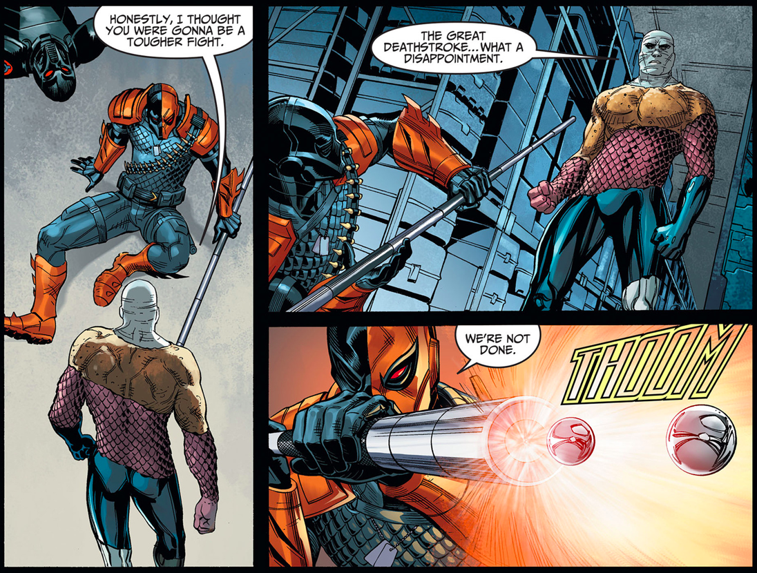 Deathstroke VS Metamorpho (Injustice Gods Among Us)