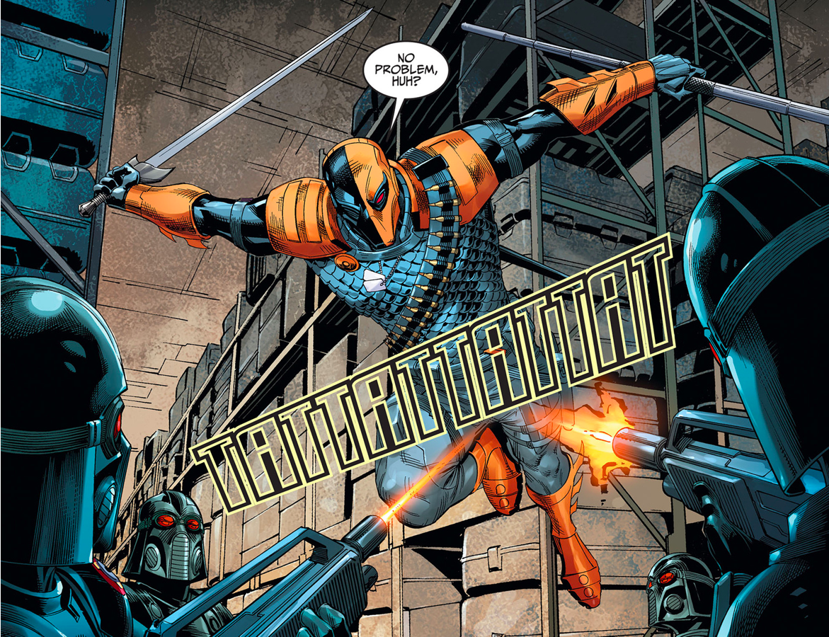 Deathstroke VS Soldiers Of The Regime (Injustice Gods Among Us)