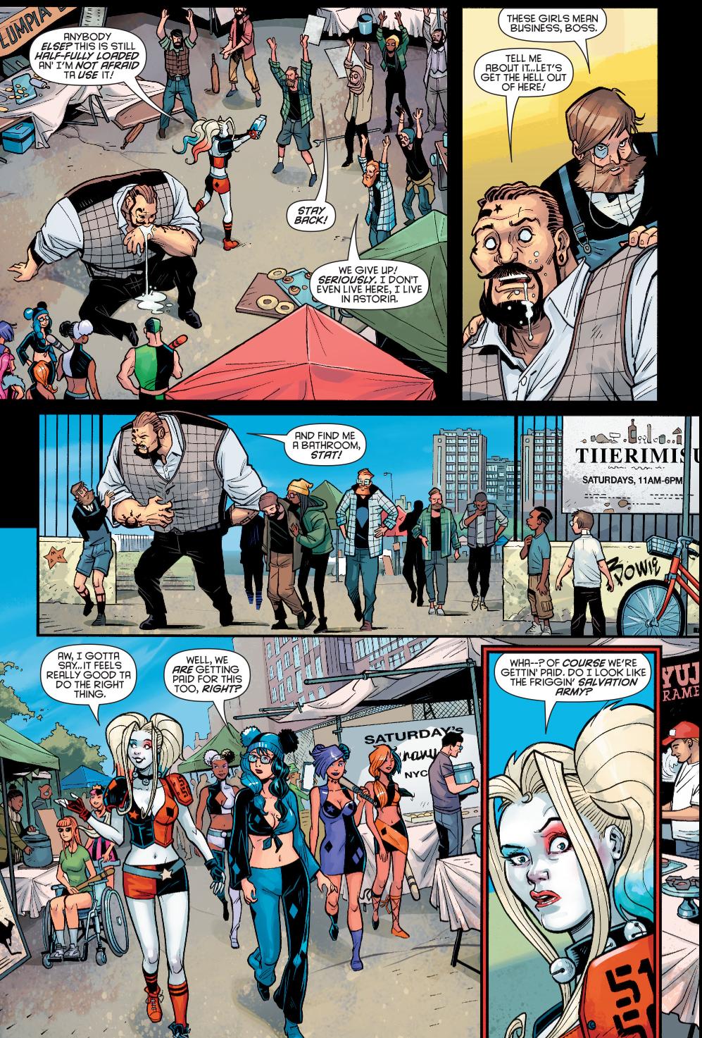 Harley Quinn VS The Hipster Mafia