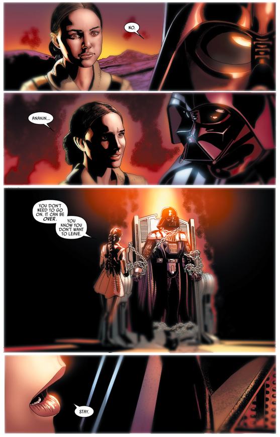 How Darth Vader Killed Cylo IV