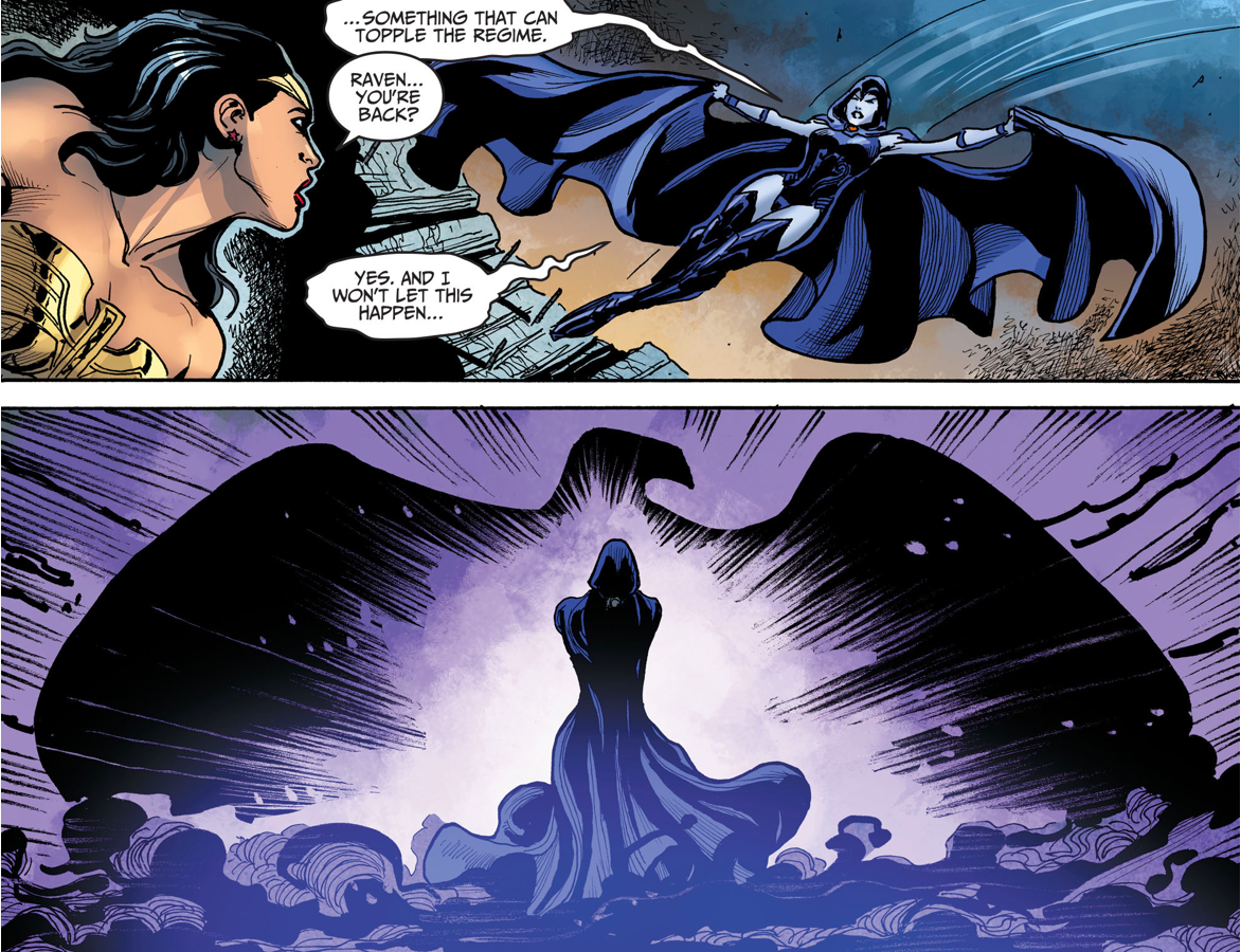 How Raven Saved Superman's Regime (Injustice Gods Among Us)