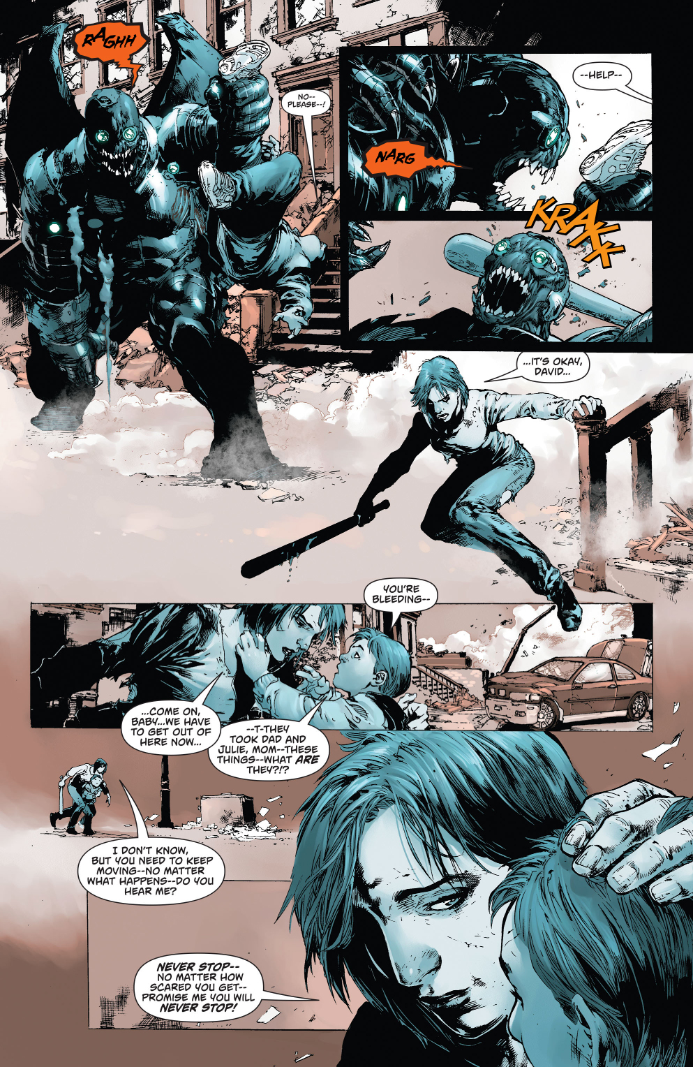 magog loses his family (new 52)