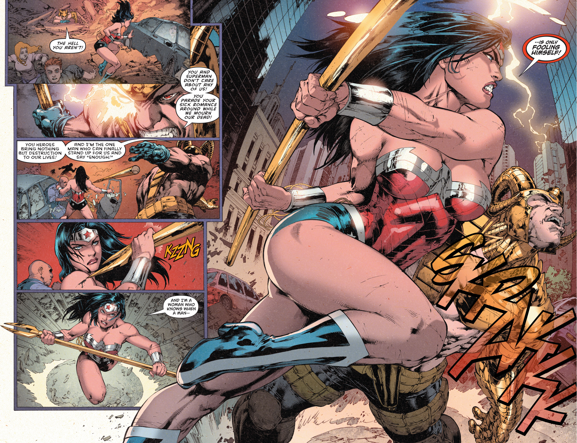 Magog VS Wonder Woman (New 52)