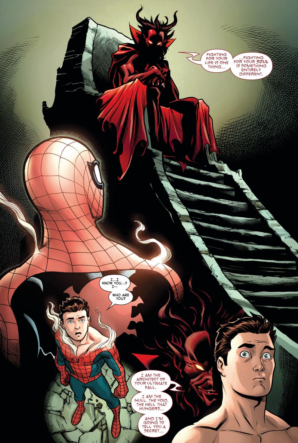 mephisto taunts spider-man