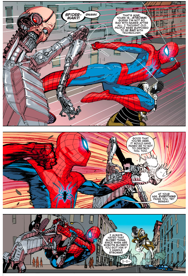 Spider-Man And Clash VS The Robot Master