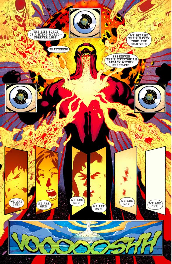 Superman And Son VS The Eradicator (Rebirth)