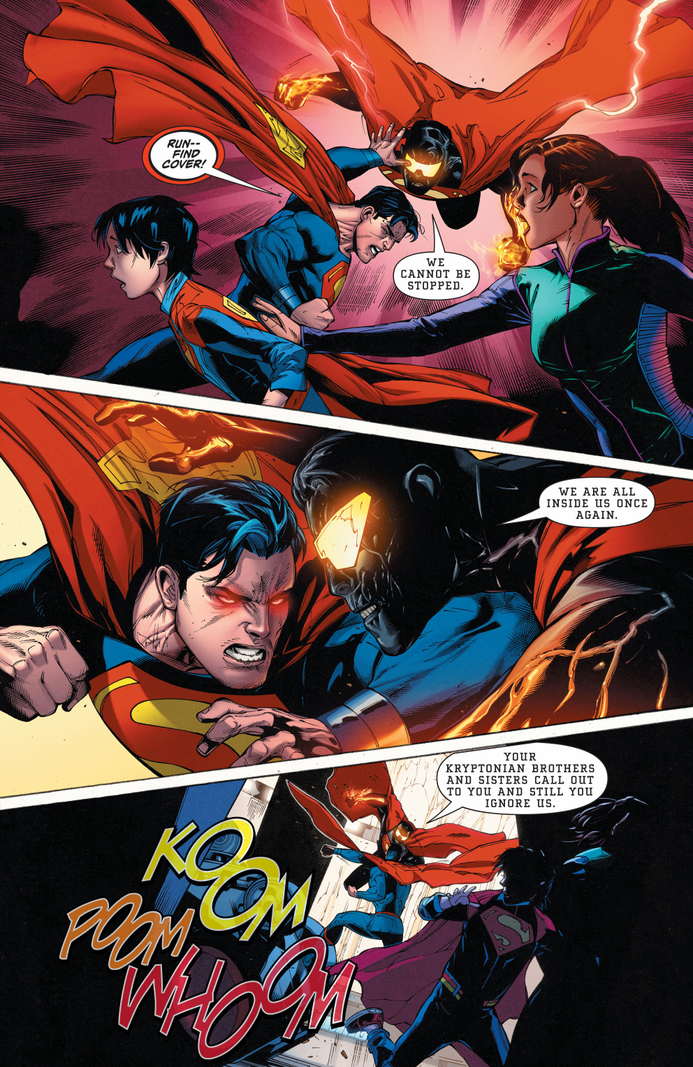 The Eradicator Absorbs Superman