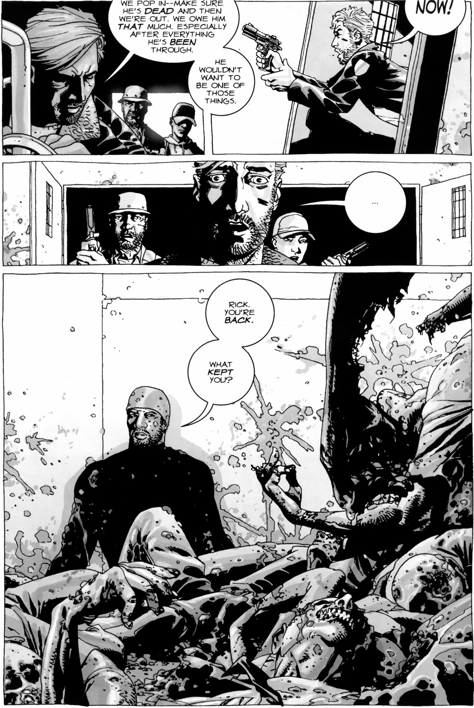 Tyreese's Most Badass Moment (The Walking Dead)