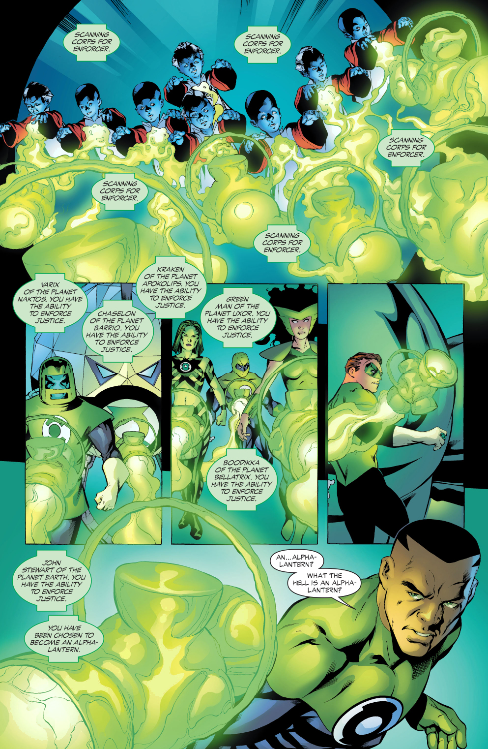 what is an alpha lantern