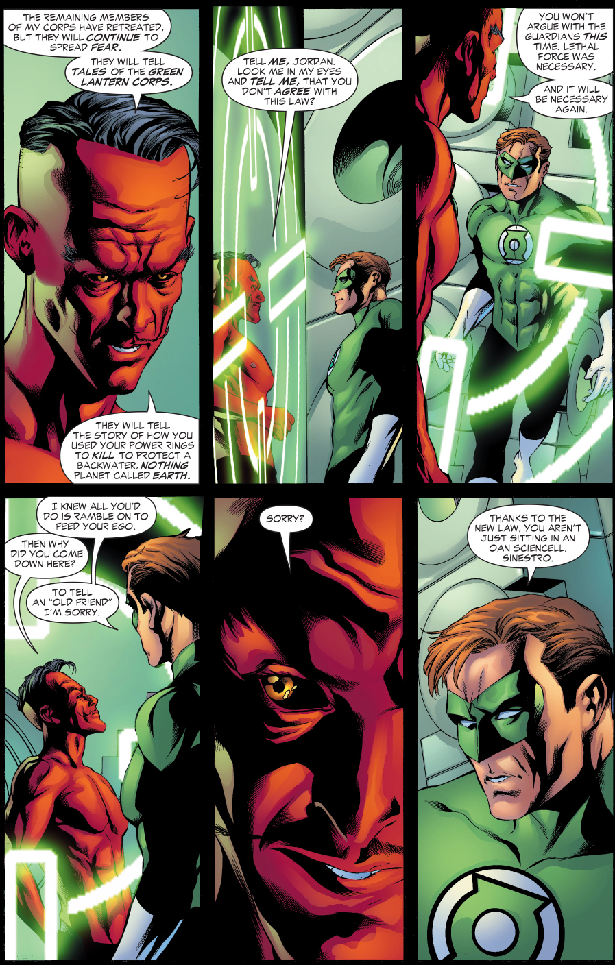 Why Sinestro Wants The Green Lantern Corps To Kill