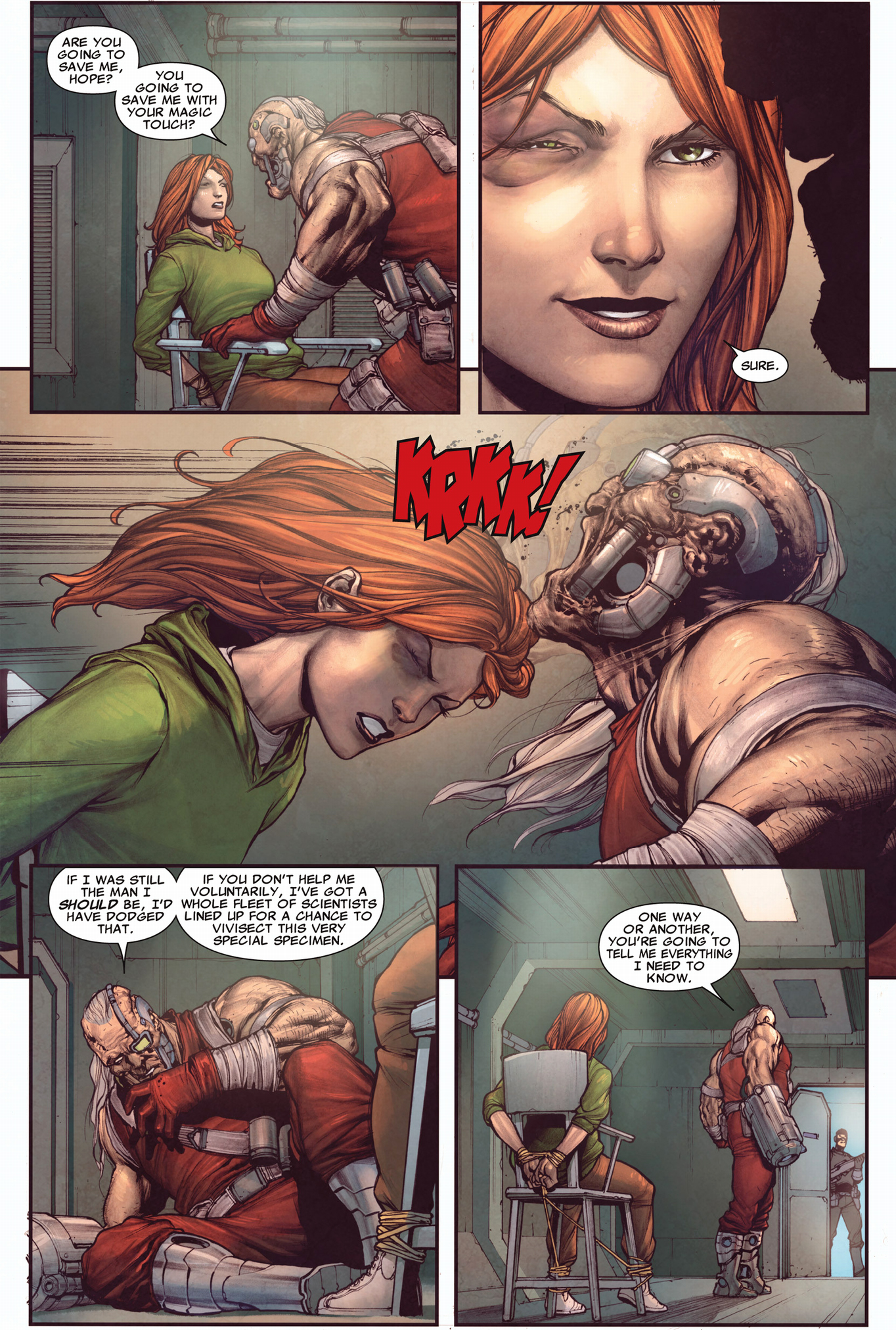 why the crimson commando kidnapped hope summers