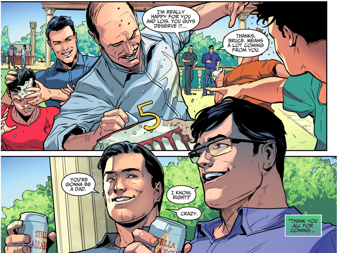 Alfred Pennyworth's Birthday Party (Injustice Gods Among Us)