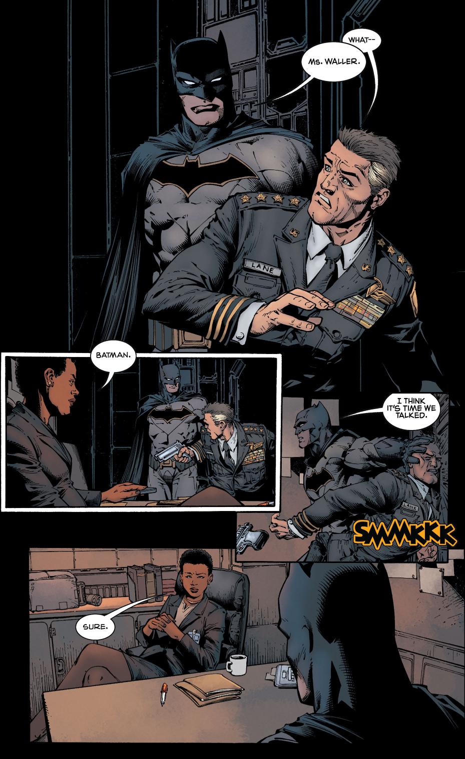 Batman Infiltrates Amanda Waller's Gotham Base