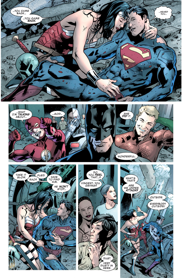 How Wonder Woman Brought Superman Back To Life