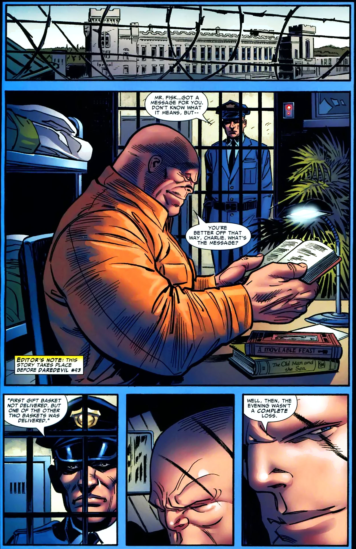 The Kingpin Reads Euripides