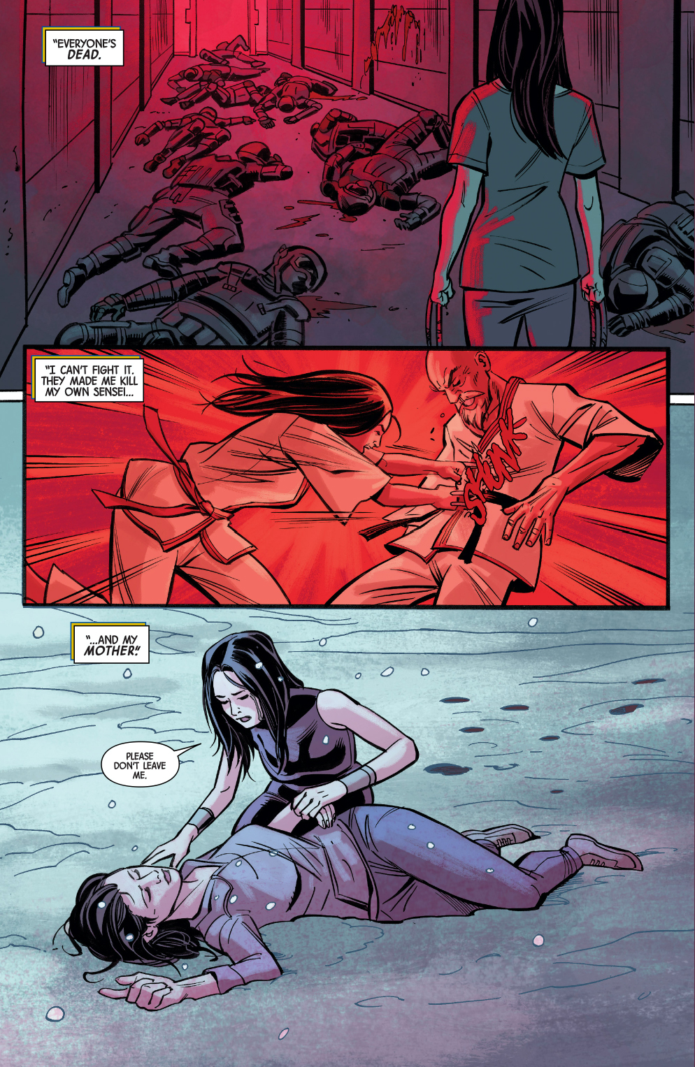 All New Wolverine Shares Her History With Gabrielle