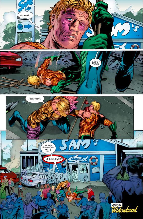 Aquaman VS The Shaggy Man