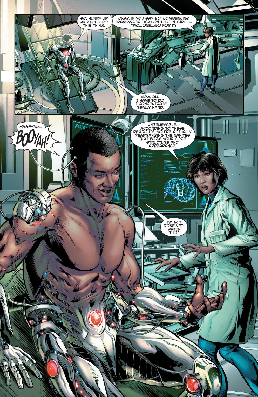 Cyborg's Transmogrification Power