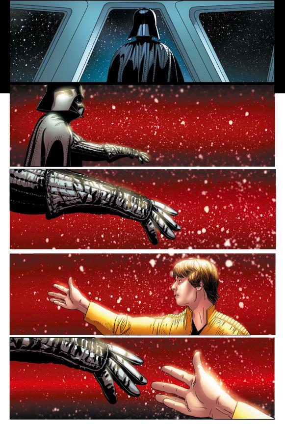 Darth Vader Dreams Of Turning Luke Skywalker To The Dark Side