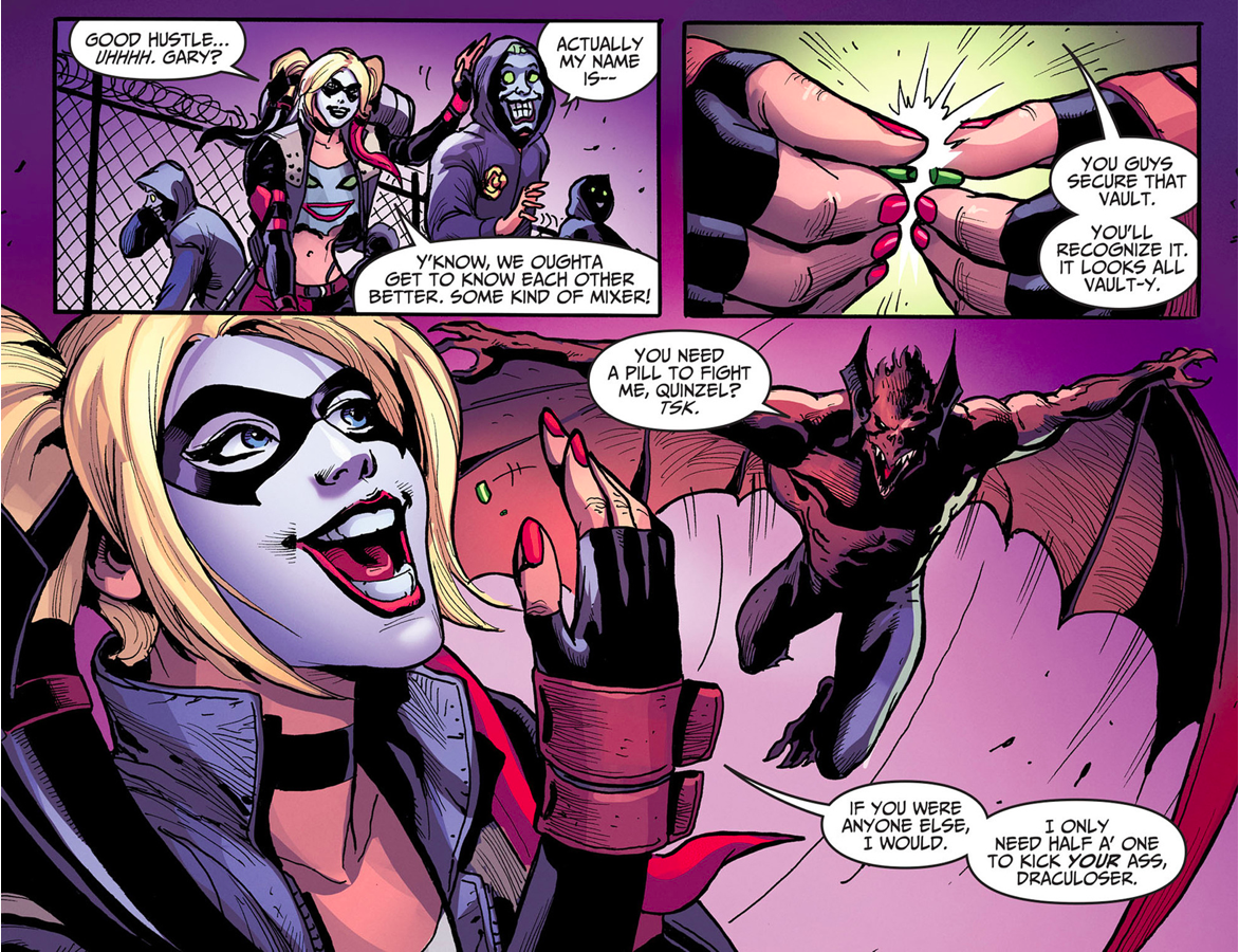 Harley Quinn VS Man-Bat (Injustice Gods Among Us)