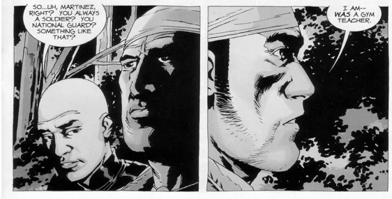 Martinez's Story Of The Outbreak (The Walking Dead)