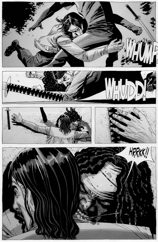 Michonne VS The Governor (The Walking Dead)