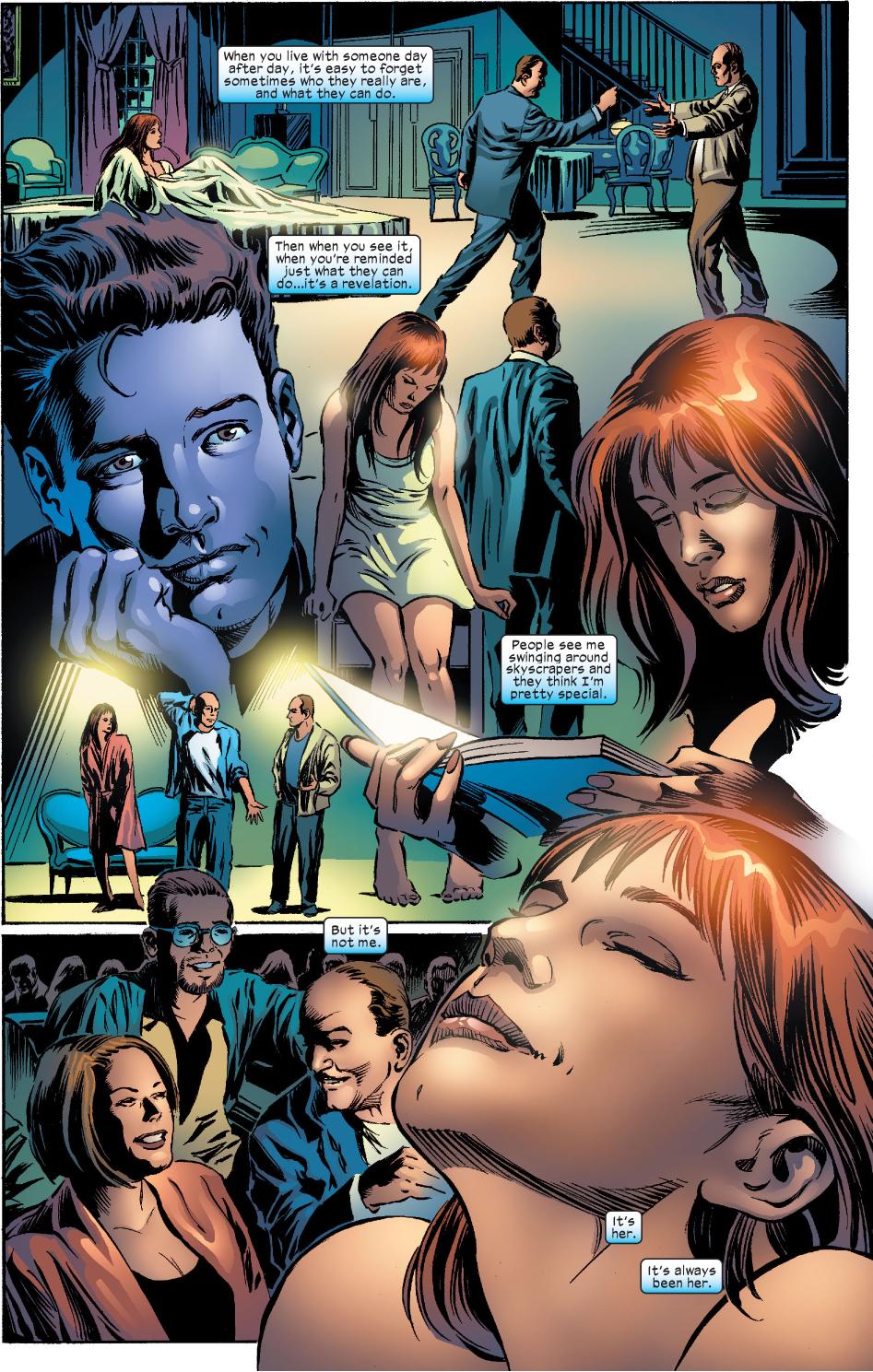 Peter Parker Loves Mary Jane Parker