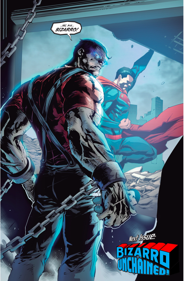 Red Hood Tries to Bond With Bizarro