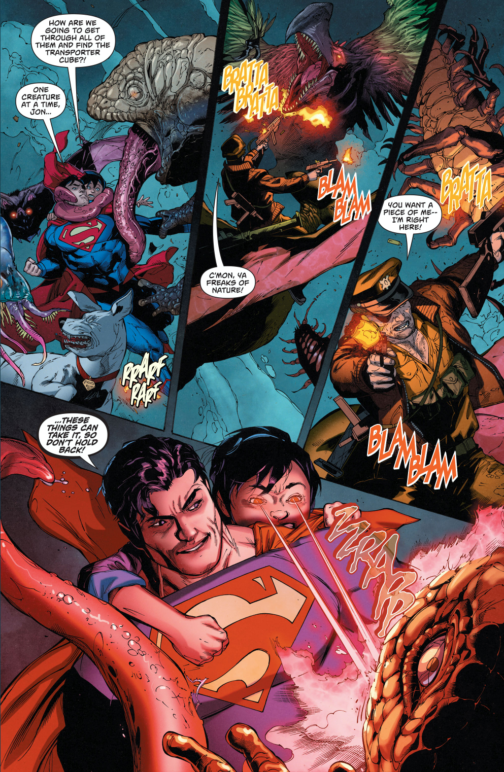 superman-and-captain-storm-vs-monsters-of-dinosaur-island