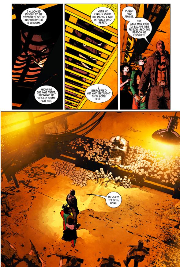 Catwoman Betrays Batman To Bane