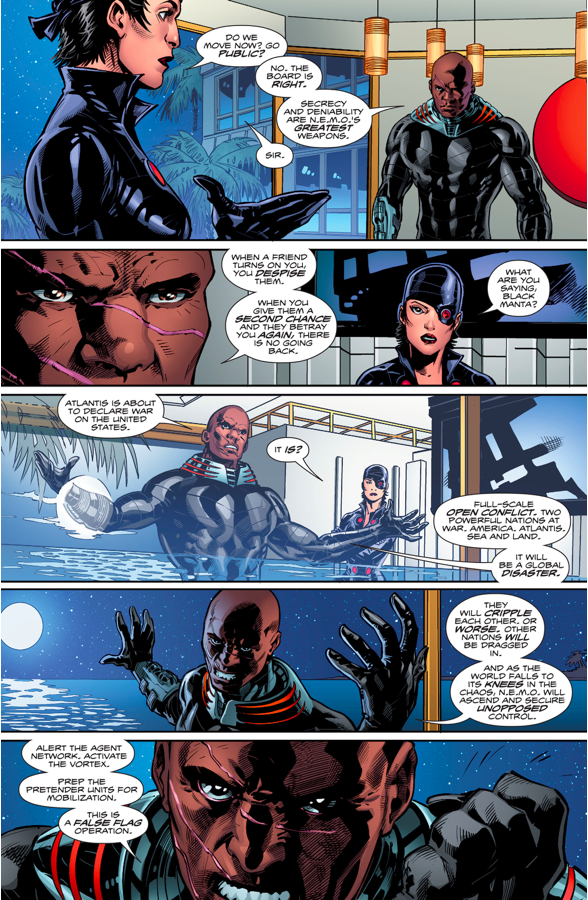 N.E.M.O's Atlantis Army Attacks The Surface World