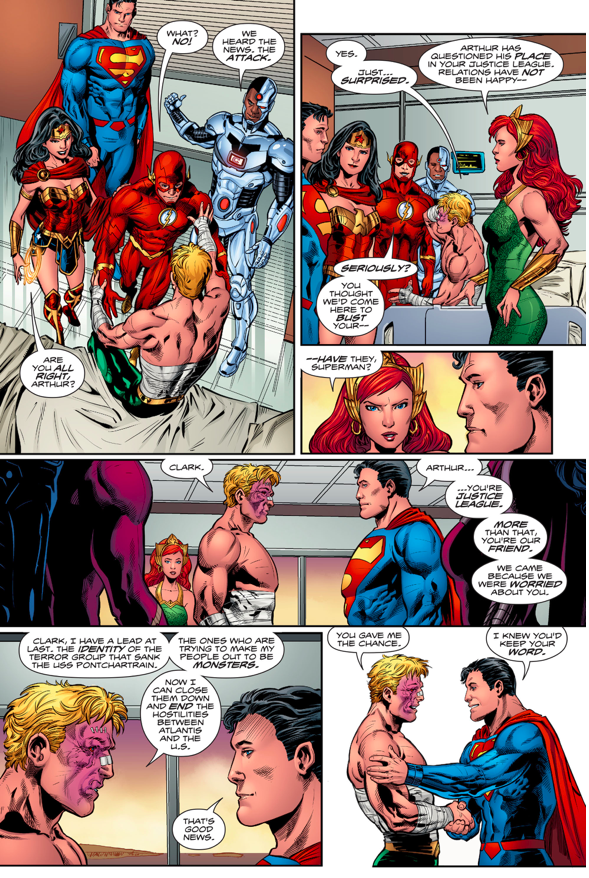 the-justice-league-visits-aquaman-in-the-hospital