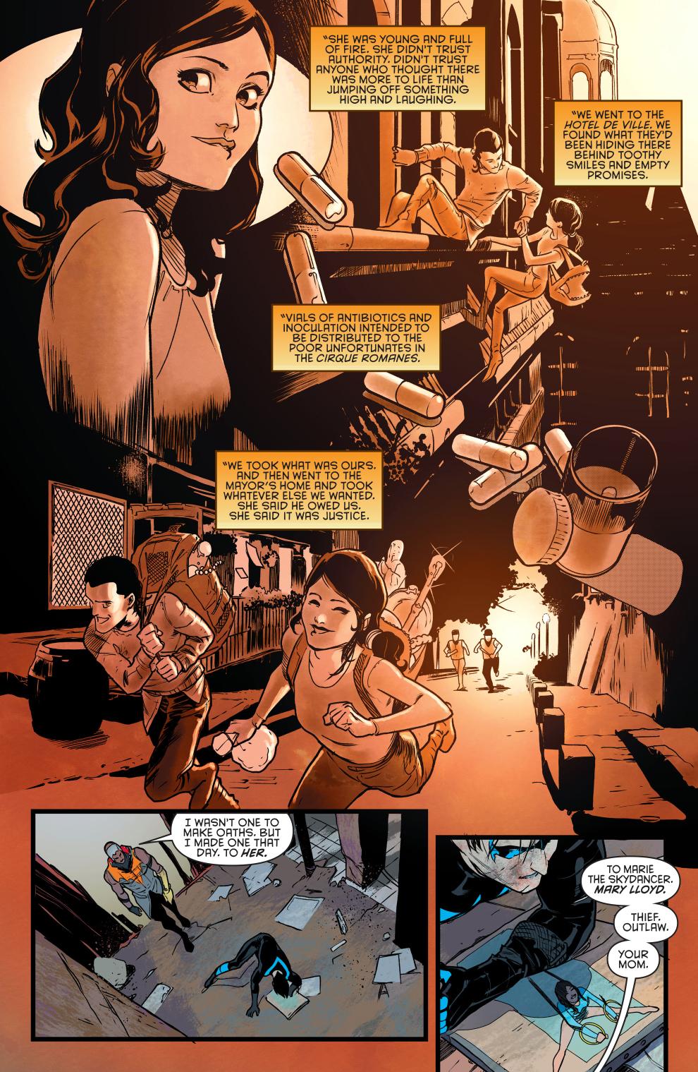 Why Raptor Loves Nightwing's Mom