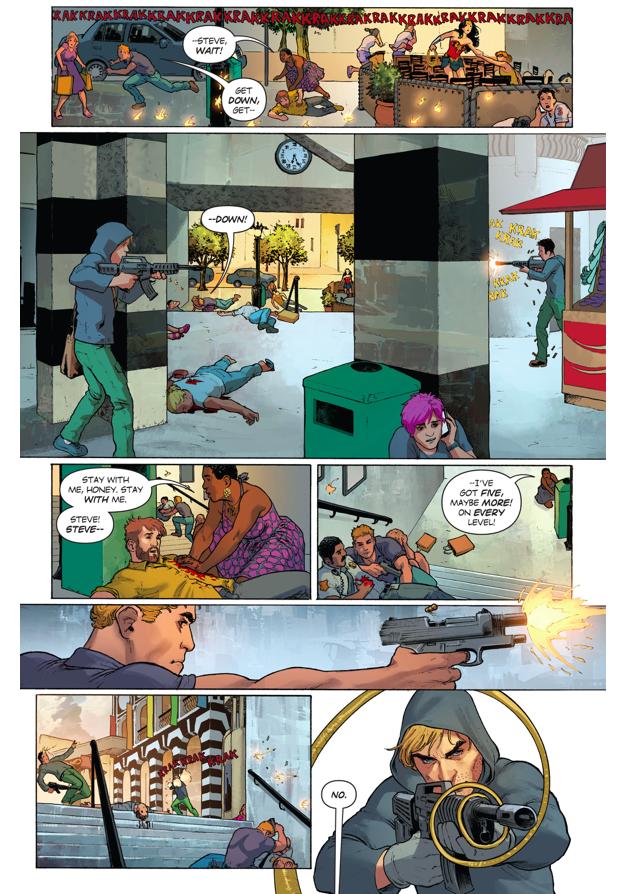 Wonder Woman VS Sear Group Terrorists