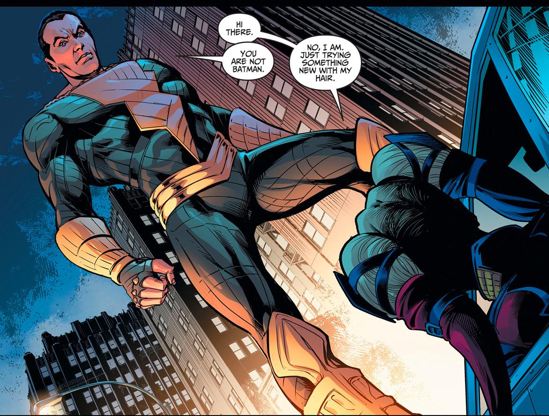 Harley Quinn Meets Black Adam (Injustice Gods Among Us)