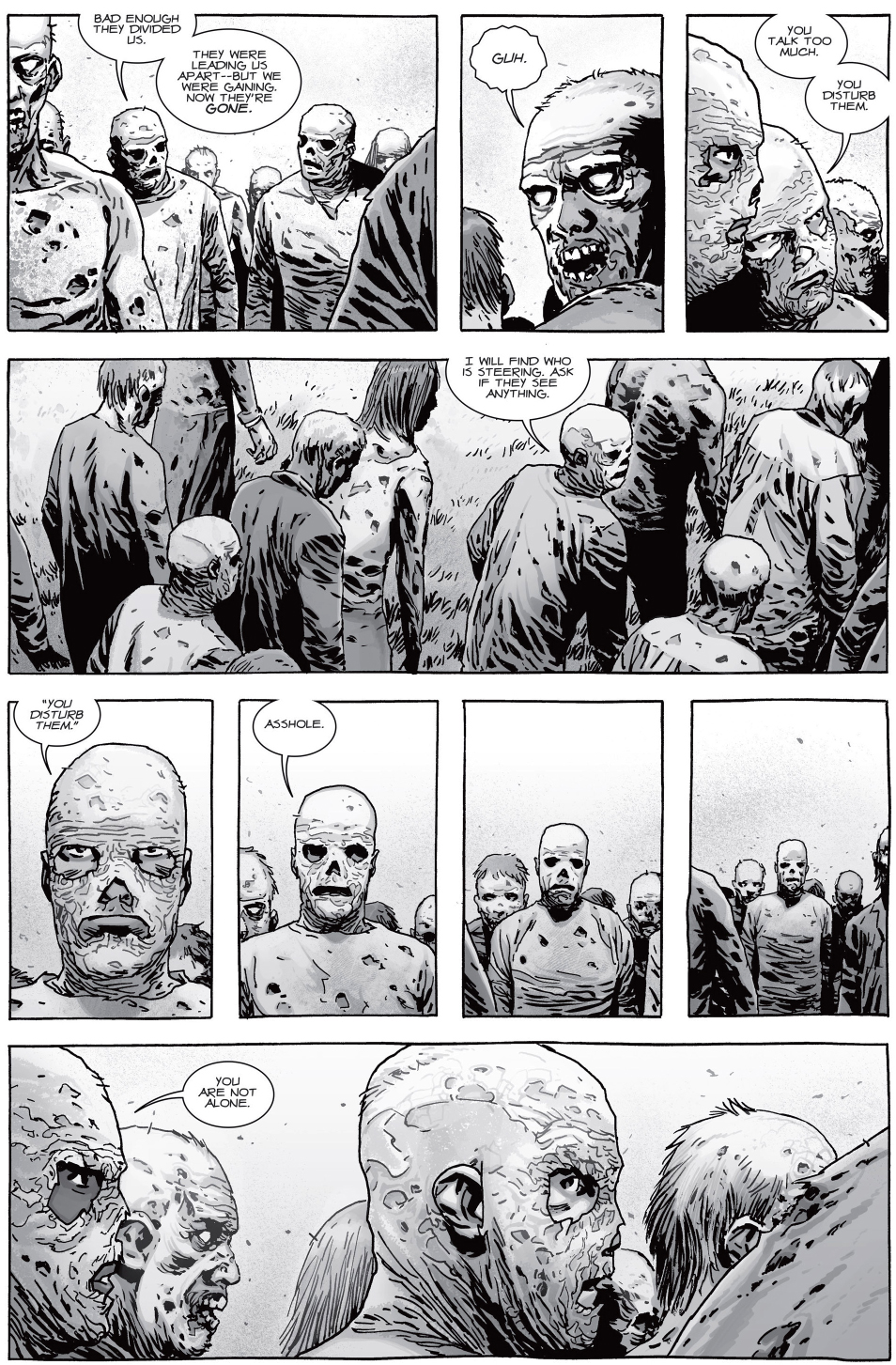 How Michonne Killed A Group Of Whisperers
