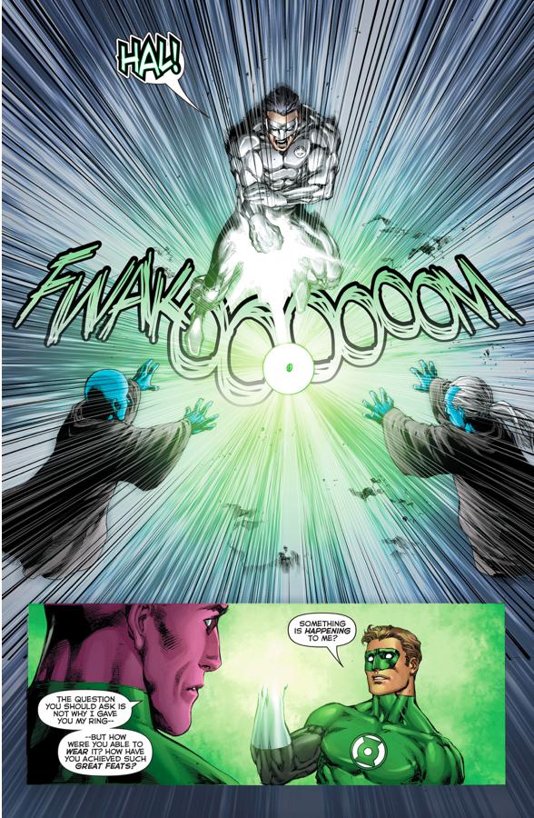 Kyle Rayner Brings Hal Jordan Back To Life