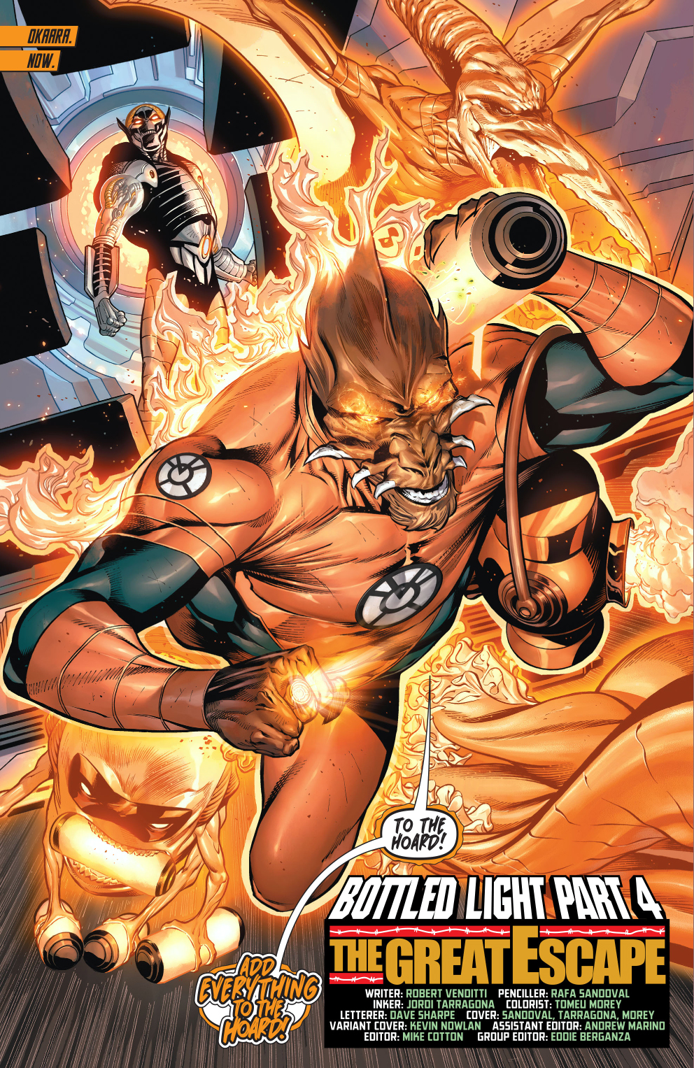 From – Hal Jordan and the Green Lantern Corps Vol. 1 #10