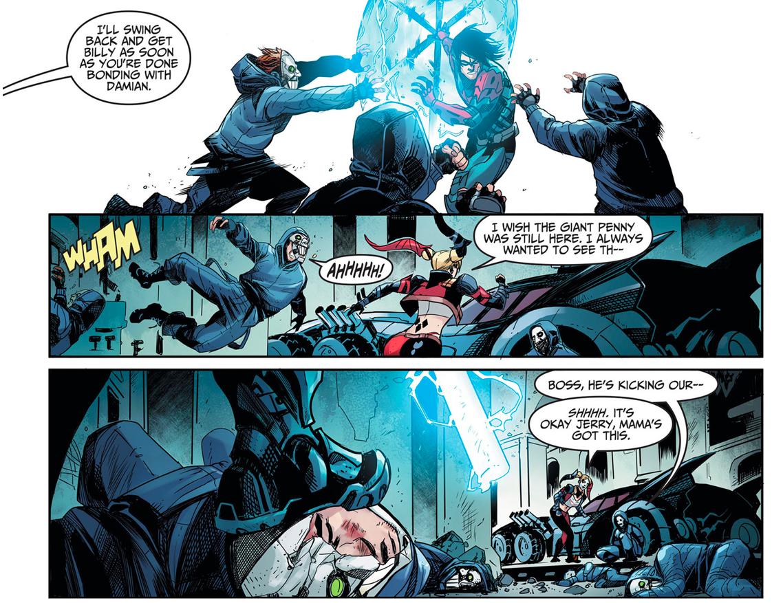 Nightwing (Damian Wayne) Vs Harley Quinn (Injustice Gods Among Us)