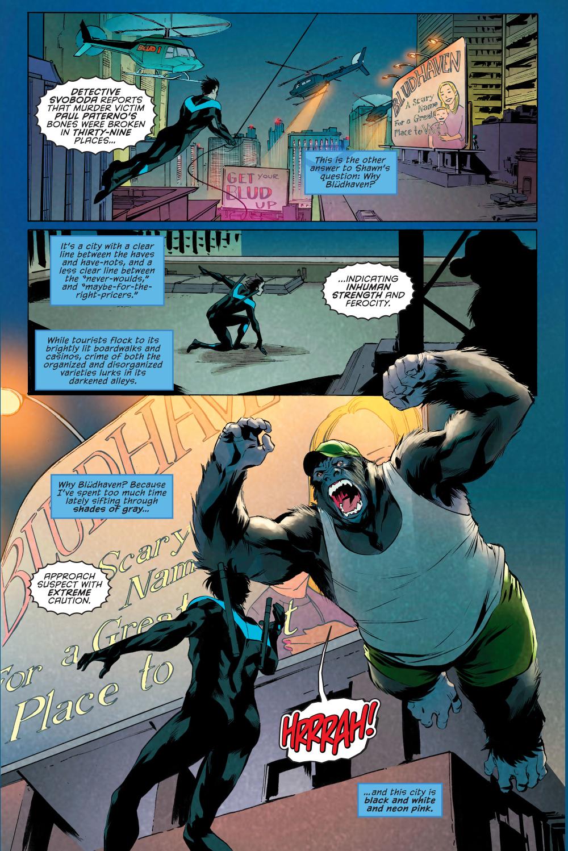 Nightwing VS Gorilla Grimm
