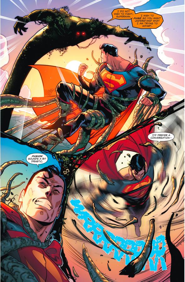 Superman VS Swamp Thing (Rebirth)