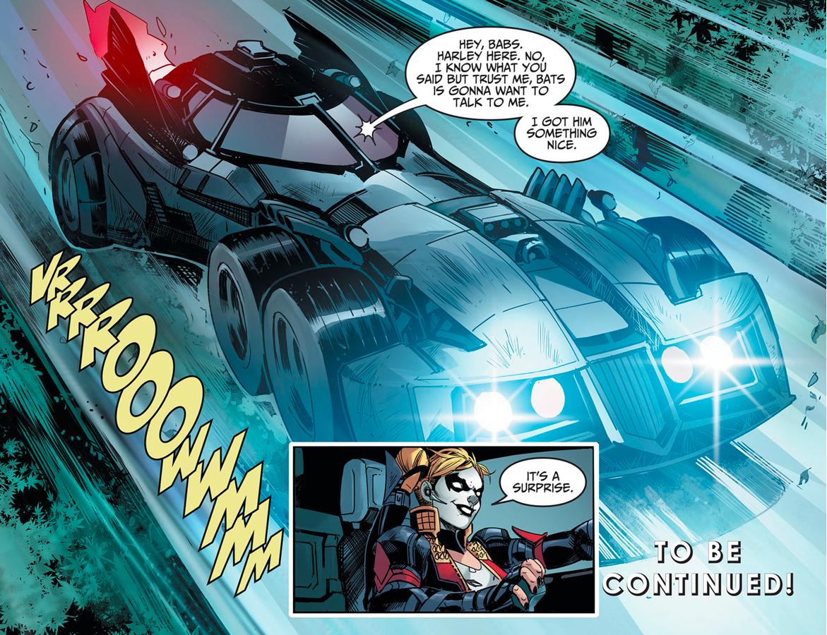 The Batmobile (Injustice Gods Among Us)