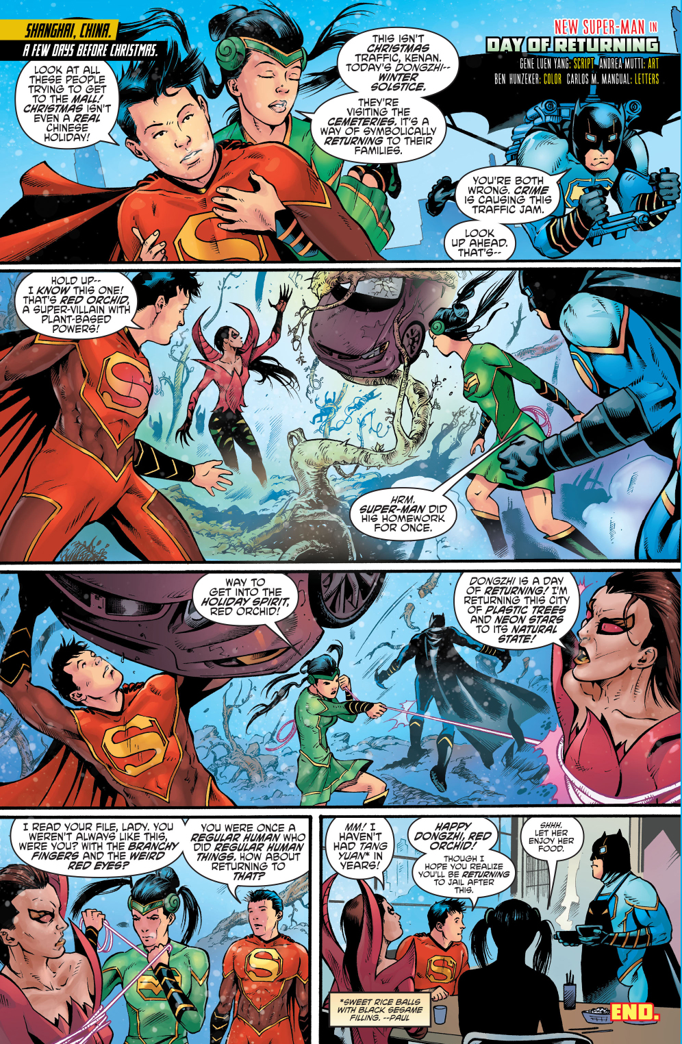 The Chinese Justice League Celebrates The Dongzhi Festival