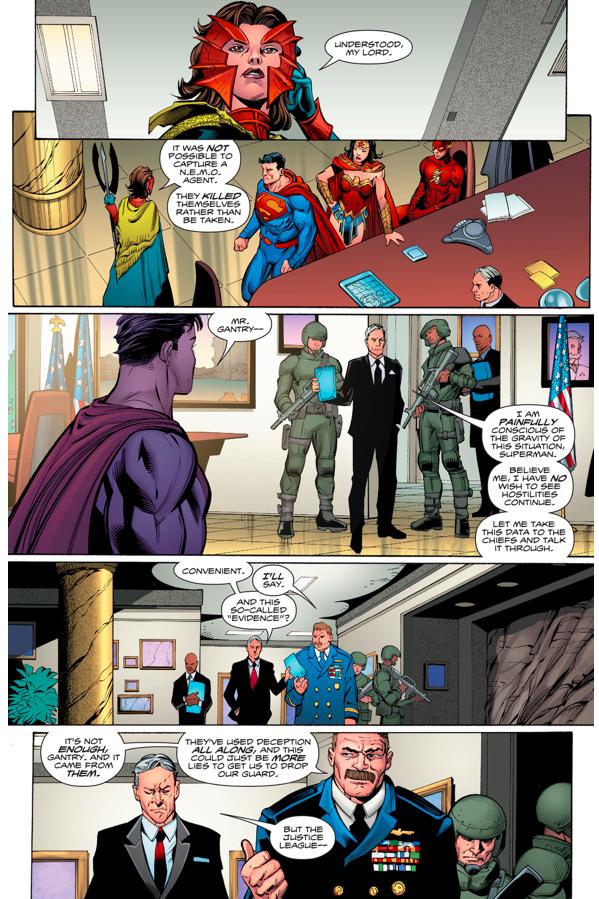 The United States Orders Aquaman's Assassination (Rebirth)
