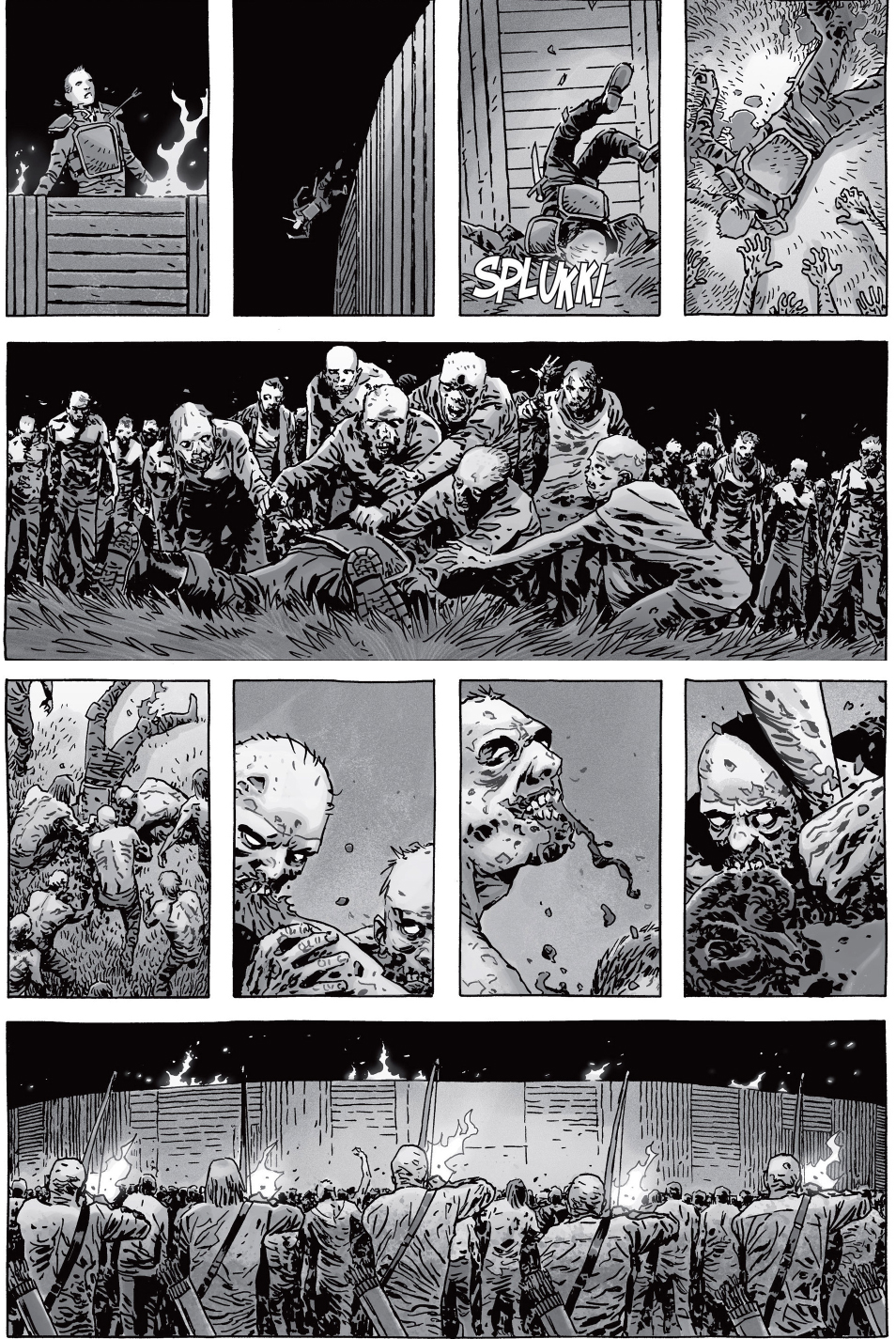the-whisperers-attack-the-hilltop